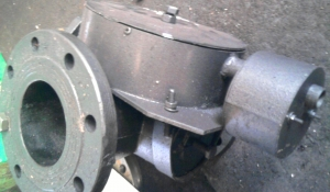 Кран Ду80 с электро обогревом
